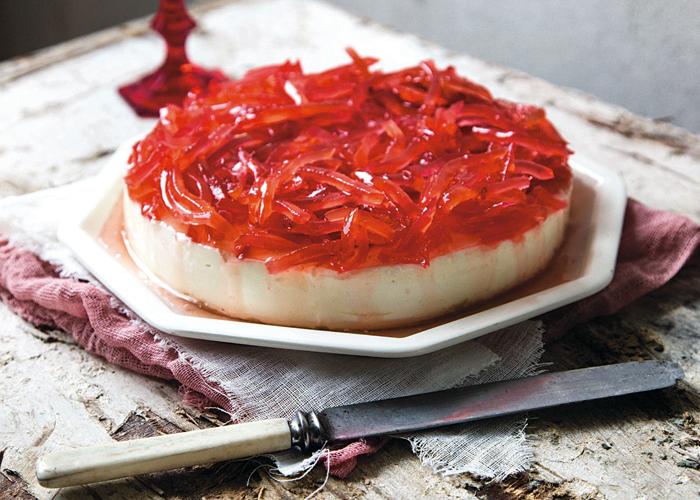 Cheesecake with yogurt